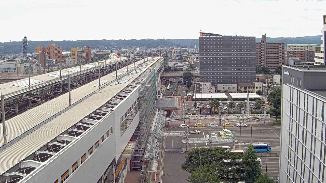 福島市 コラッセふくしま南側 福島駅西口側