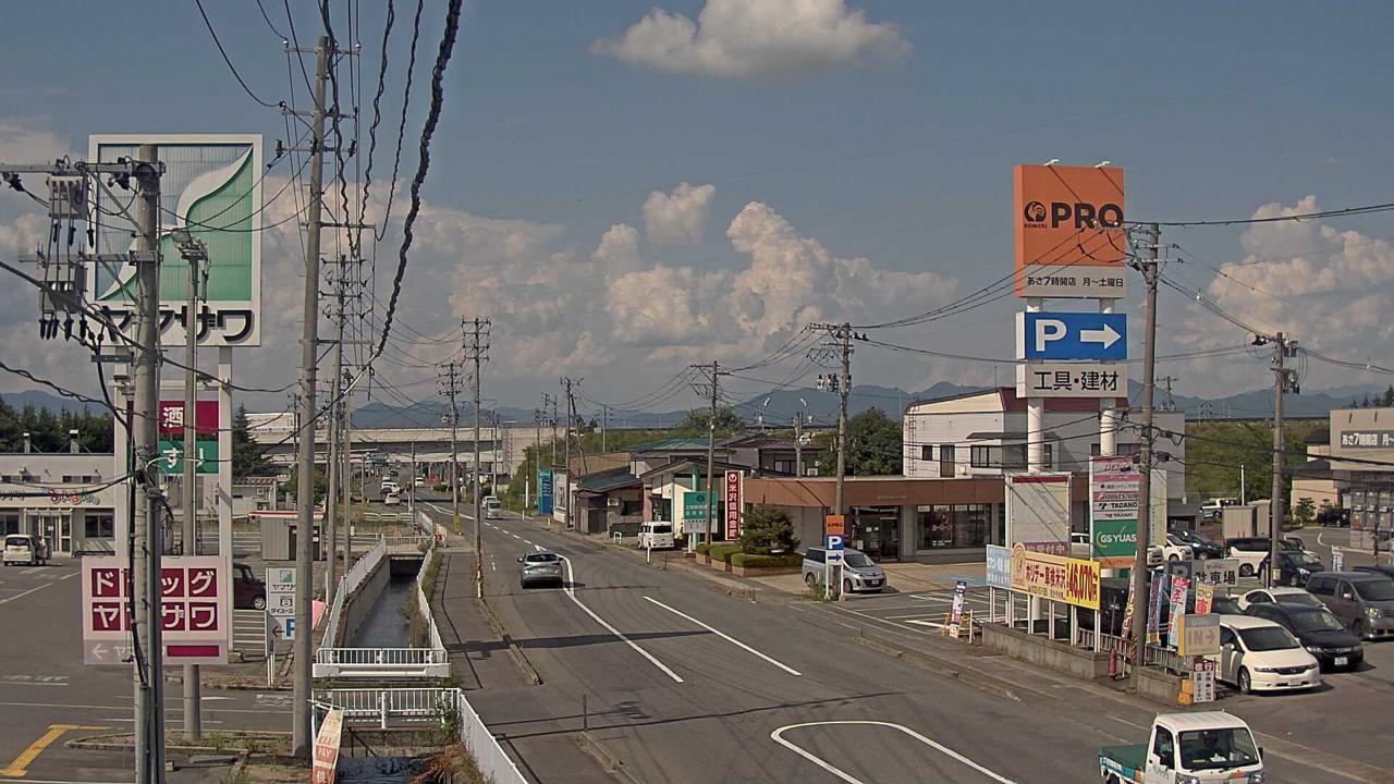 米沢市 中田町