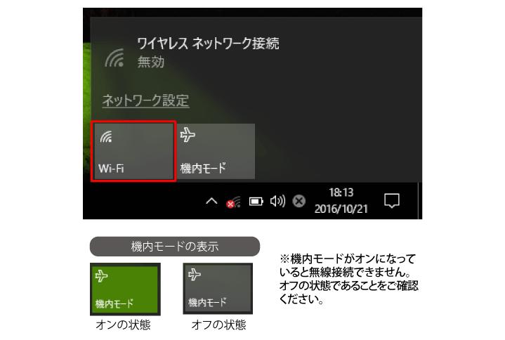 Wi-Fiクリック